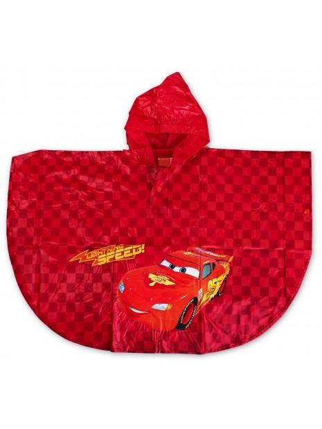 Chlapecká pláštěnka / pončo Auta (Cars) - červená
