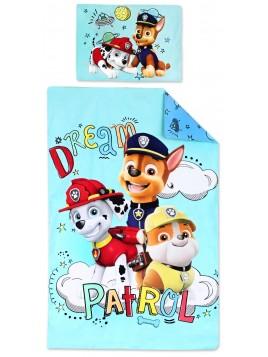 Bavlnené obliečky do detskej postieľky Labková patrola (Paw Patrol)