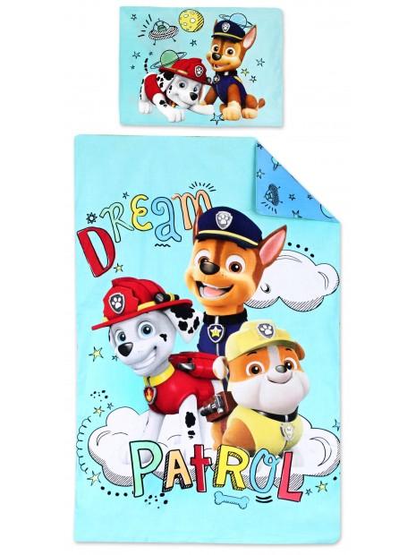 Bavlněné povlečení do dětské postýlky Tlapková patrola (Paw Patrol)