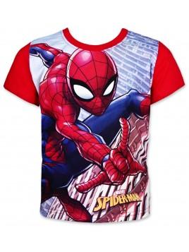 Chlapecké tričko s krátkým rukávem Spiderman - modré