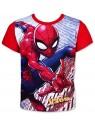 Chlapčenské tričko s krátkym rukávom Spiderman - modré