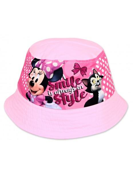 Dívčí klobouček Minnie Mouse (Disney) - růžový