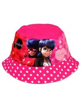 Dívčí klobouček Kouzelná beruška (Ladybug) - růžový f7963ced6f