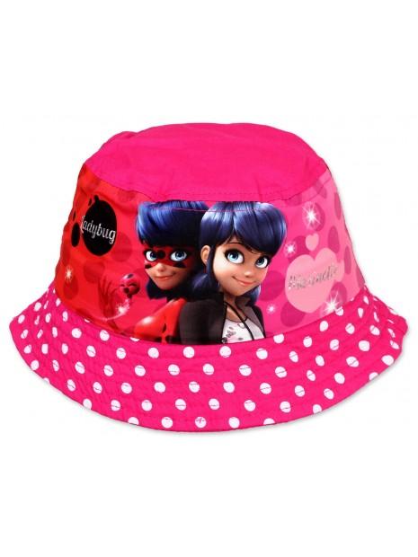 Dívčí klobouček Kouzelná beruška (Ladybug) - růžový