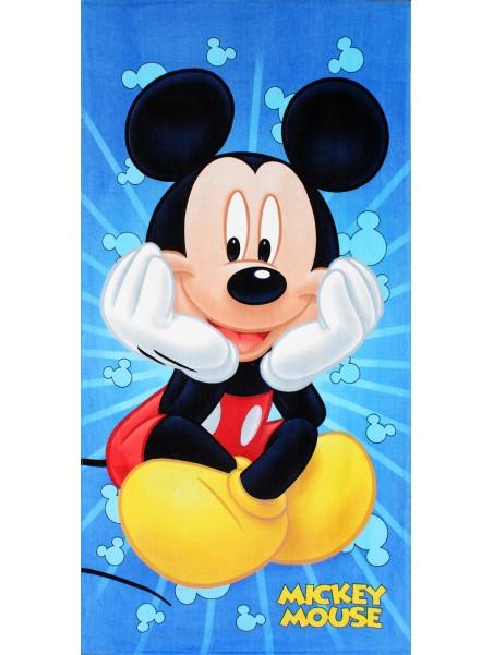 Plážová bavlněná osuška Mickey Mouse (Disney)