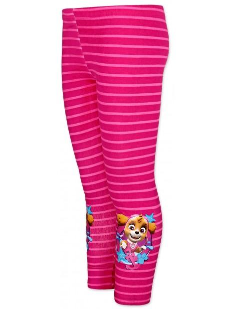 Dievčenské bavlnené legíny Tlapková patrola (Paw Patrol) - ružové