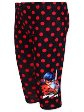 Trojštvrťové bavlnené legíny Kúzelná lienka (Ladybug)