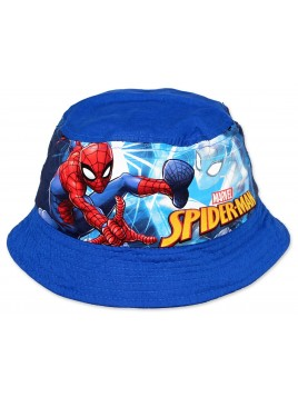 Chlapecký klobouček Spiderman - modrý