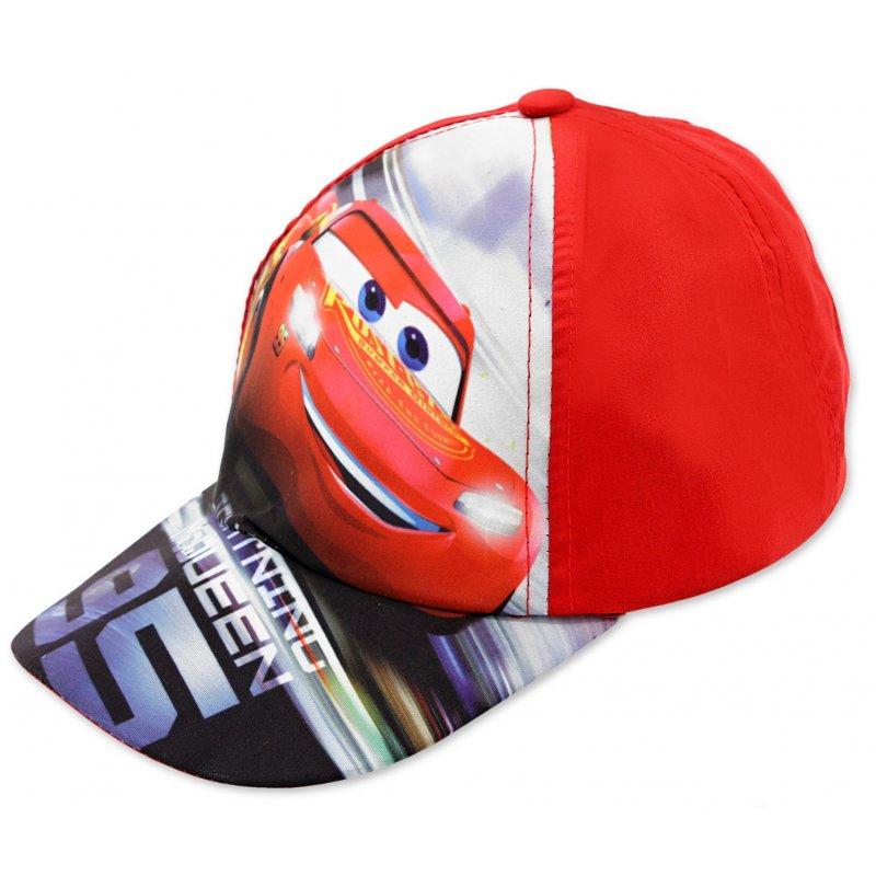 f0d8df56a Chlapčenská šiltovka auta McQueen (Cars) - červená