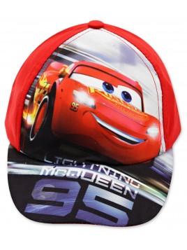 Chlapecká kšiltovka auta McQueen (Cars) - červená
