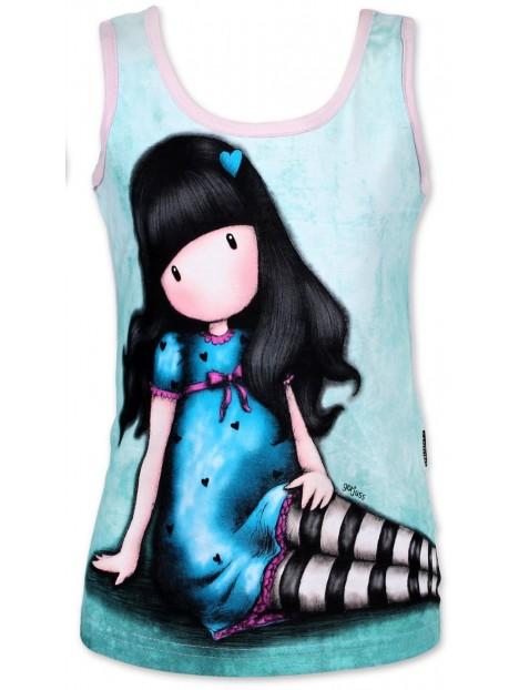 Dívčí bavlvěné tílko Gorjuss Santoro London - sv. růžové 80b764229a