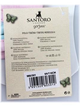 Dievčenské bavlnené tričko Gorjuss Santoro London - sv. ružové