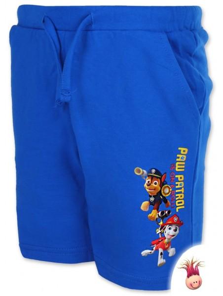 Chlapčenské kraťasy Tlapková patrola (Paw Patrol) - modré