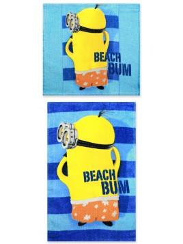 Set bavlněných ručníků na obličej a na ruce Mimoni