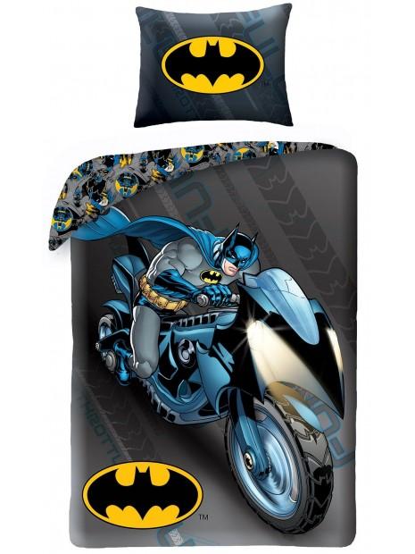 Bavlněné ložní povlečení Batman - motorka