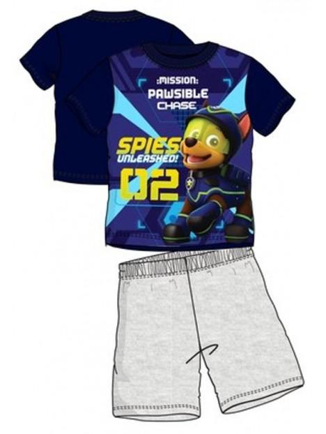 c30d445d7 Letné chlapčenské pyžamo Tlapková patrola (Paw Patrol) - modré