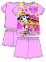 Letní dívčí pyžamo Tlapková patrola (Paw, Skye) - sv. růžové