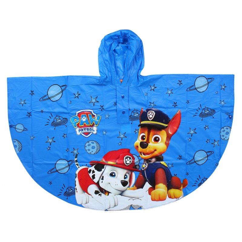 0813649c75e0 Chlapecká pláštěnka   pončo Tlapková Patrola (PAW PATROL) - modrá