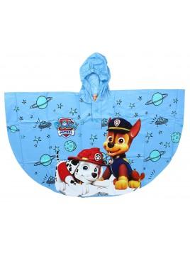 Chlapecká pláštěnka / pončo Tlapková Patrola (PAW PATROL) - sv. modrá