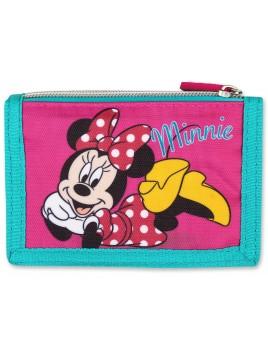 Detská textilná peňaženka Minnie Mouse