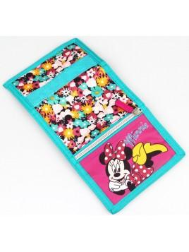 Dětská textilní peněženka Minnie Mouse
