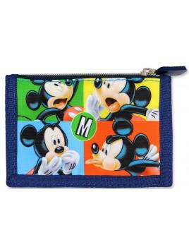 Detská textilná peňaženka Mickey Mouse (Disney)