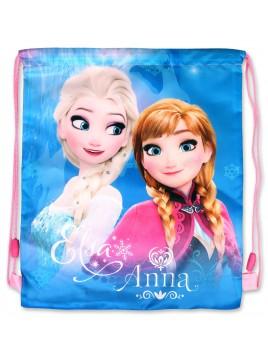 Sáček na přezůvky Ledové království (Frozen) - modrý