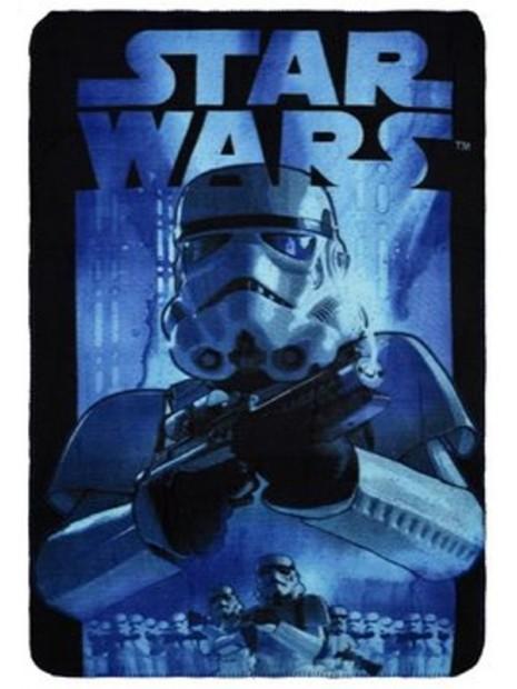 Detská deka Star Wars - modrá