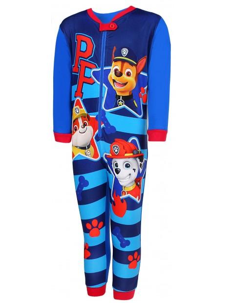 Chlapecké pyžamo overal Tlapková patrola (Paw Patrol) -  modré