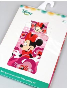 Bavlněné povlečení do dětské postýlky Minnie mouse ❤ (Disney)