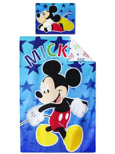 Bavlnené obliečky do detskej postieľky Mickey Mouse (Disney)