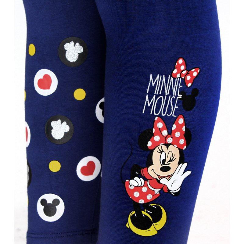 Dívčí bavlněné legíny Minnie Mouse - modré (Disney) a4a228d75e