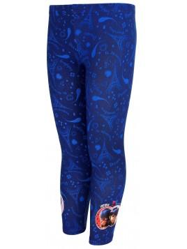 Dívčí dlouhé legíny Kouzelná beruška (Ladybug) - modré