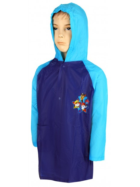 Chlapčenská pláštenka Tlapková patrola (Paw Patrol) - tyrkysová