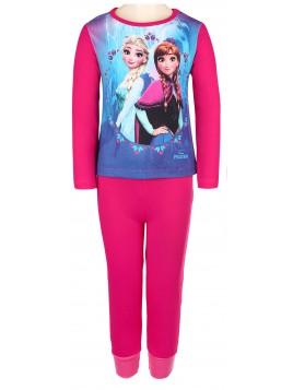 Dievčenské pyžamo Ľadové kráľovstvo (Frozen) Disney - tm. ružové
