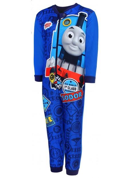Chlapecké pyžamo overal Mašinka Tomáš -  modré