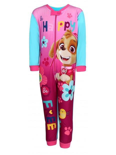 Dievčenské pyžamo overal Tlapková patrola (Paw Patrol - Skye) - tyrkysové