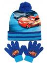 Chlapčenský set čiapka s brmbolcom a prstové rukavice, poteší a zahreje každého obdivovateľa Bleska McQueena.