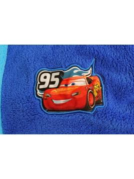 Chlapčenský župan Autá (Cars Pixar) -tm. modrý