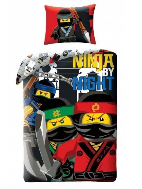 Bavlnené posteľné obliečky LEGO - So Ninja