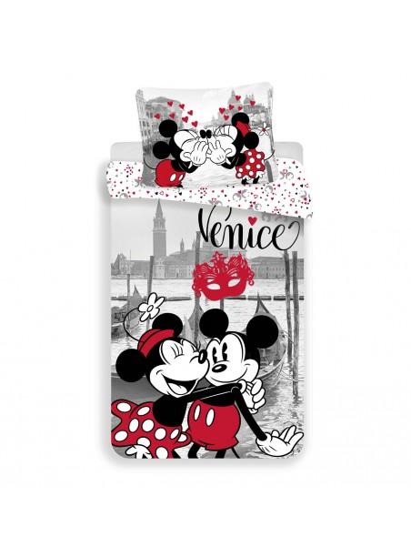 Bavlněné povlečení Mickey a Minnie v Benátkách (Venice) ❤ Disney