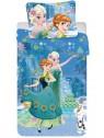 Dětské bavlněné povlečení Ledové království (Frozen) - sisters flower