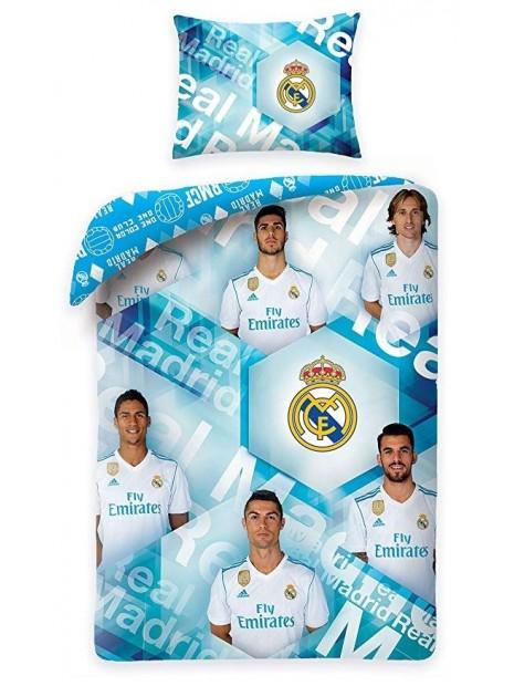 Bavlněné ložní povlečení Real Madrid - foto hráčů