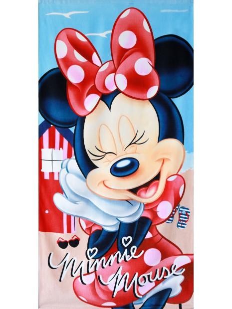 Dětská bavlněná osuška Minnie mouse I.