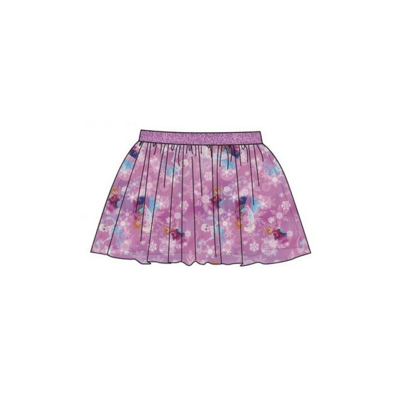 91476a560d82 Dievčenské sukne Ľadové kráľovstvo (Frozen) tylová - ružová