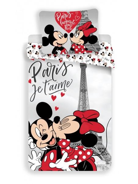 Bavlněné povlečení Mickey a Minnie v Paříži ❤ (Disney)