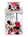 Bavlnené obliečky Mickey a Minnie v Paríži ❤ (Disney)