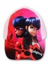 Dívčí kšiltovka Kouzelná beruška (Ladybug) - černá