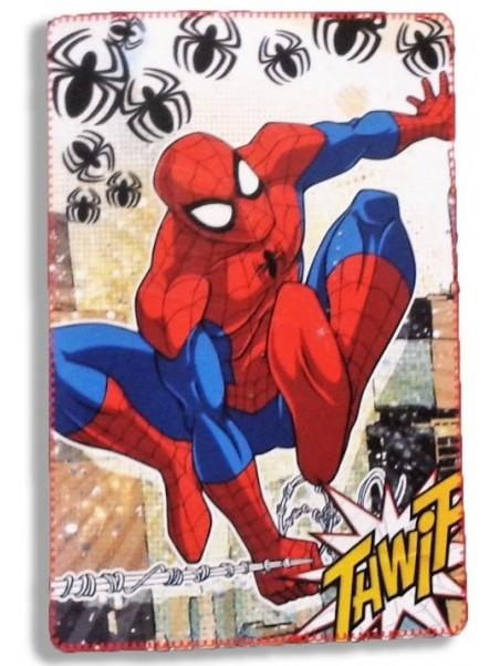 Fleecová dětská deka Spiderman MARVEL - pavouk