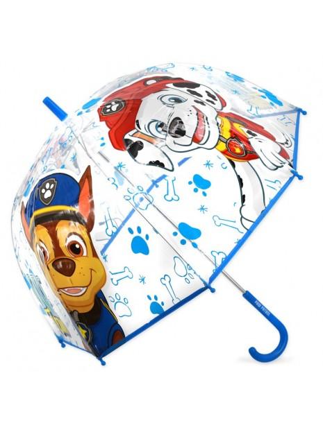 Deštník Tlapková patrola (Paw Patrol) - průhledný